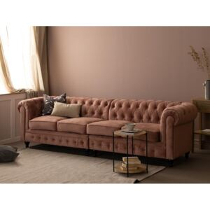 Chesterfield sofa VGR7, Boja: Roza