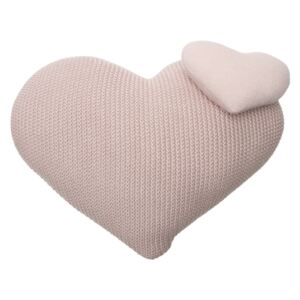 Ukrasni pleteni jastuk - Ljubav knitted pillow heart