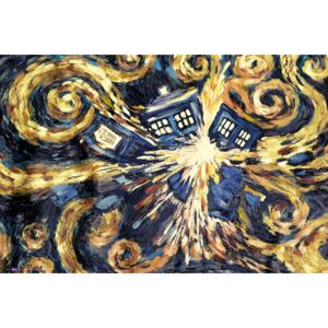 DOCTOR WHO - exploding tardis Poster, (91,5 x 61 cm)