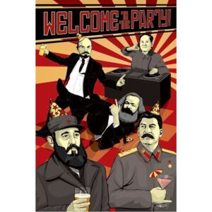 Poster Welcome to the party, (61 x 91 cm)