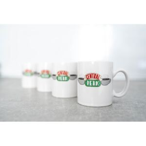 Poklon paket Friends Central Perk - Set 4pcs Original Espresso Mugs