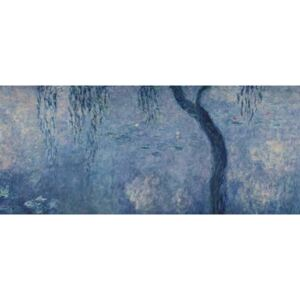 Claude Monet - Waterlilies: Two Weeping Willows, right section, c.1915-26 (oil on canvas) Reprodukcija umjetnosti