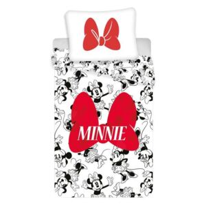 Posteljina Minnie Red Bow 140/200, 70/90
