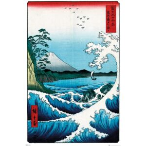 Poster Hiroshige - The Sea At Satta, (61 x 91,5 cm)