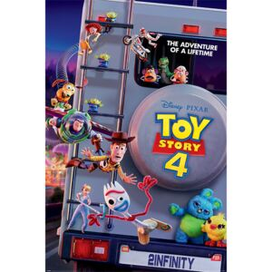 Poster Toy Story 4 - Adventure Of A Lifetime, (61 x 91.5 cm)