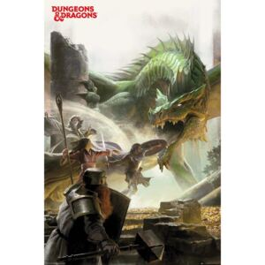 Poster Dungeons & Dragons - Adventure, (61 x 91,5 cm)