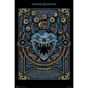Dungeons & Dragons - Monster Manual Poster, (61 x 91,5 cm)