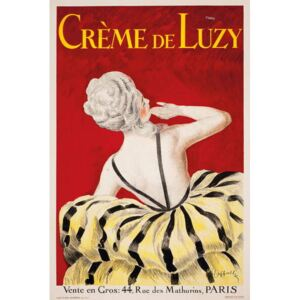 Cappiello, Leonetto - 'Creme de Luzy', an advertising poster for the Parisian cosmetics firm Luzy, 1919 Reprodukcija umjetnosti