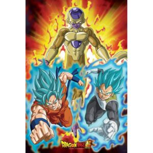 Dragon Ball - Golden Frieza Poster, (61 x 91,5 cm)