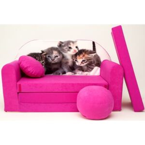 Ourbaby 2560 Kittens pink