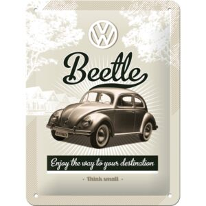 Buvu Metalna tabla - VW Retro Beetle