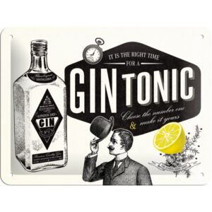 Buvu Metalna tabla - Gin Tonic