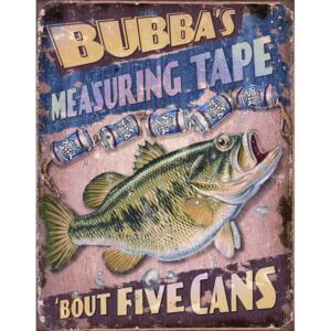 Metalna tabla - BUBBAS Measuring Tape