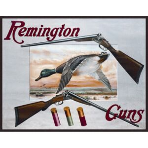 Metalna tabla - Remington Guns