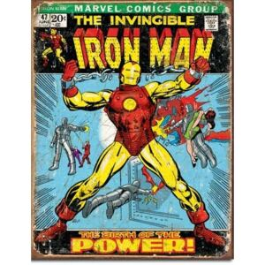 Metalna tabla - Marvel Comics (Ironman)