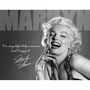 Metalna tabla - Marilyn Monroe (Definately)