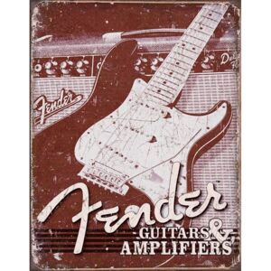 Metalna tabla - Gitara Fender (Fender Guitars & Amplifiers)