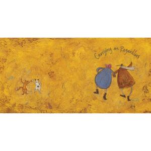 Slika na platnu - Sam Toft, Carrying On Regardless II