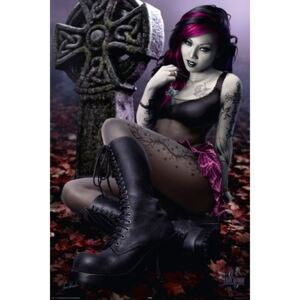 Poster - Cleo gothic