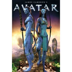 Poster Avatar limited ed. - couple, (61 x 91,5 cm)