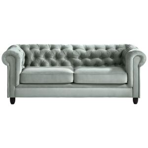 CHESTERFIELD SOFA tekstil boje mente