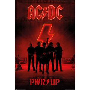 Poster AC/DC - PWR/UP, (61 x 91,5 cm)