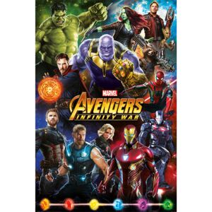Poster Avengers: Infinity War - Characters, (61 x 91,5 cm)