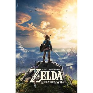 Poster The Legend Of Zelda: Breath Of The Wild - Sunset, (61 x 91,5 cm)