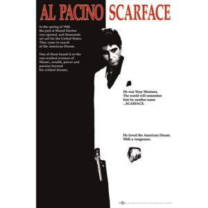 Poster Scarface - movie, (61 x 91.5 cm)