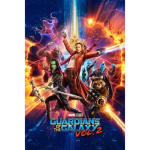 Guardians Of The Galaxy Vol. 2 - One Sheet Poster, (61 x 91,5 cm)