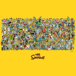 The Simpsons - Characters Poster, (91,5 x 61 cm)
