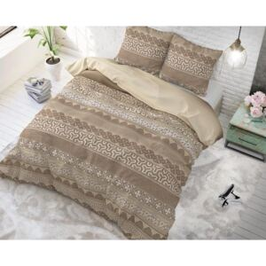 Posteljina Asian Lace Taupe