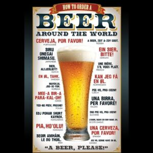 Poster Beer – how to order, (61 x 91,5 cm)