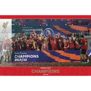 Liverpool FC - Trophy Lift Poster, (91,5 x 61 cm)