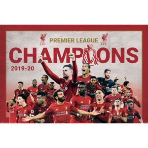 Liverpool FC - Champions Montage Poster, (91,5 x 61 cm)