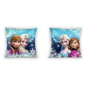 Navlaka za jastuk 40x40 Frozen - Elsa i Anna cm and Look