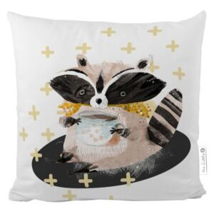 Gosp. Šumska škola Little Fox Pillow - Raccoon
