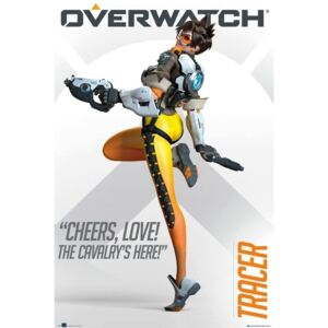 Poster Overwatch - Tracer, (61 x 91,5 cm)