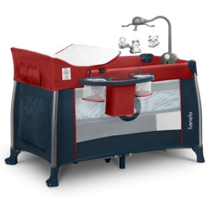 Lionelo Holiday bed Thomi Red burgundy crvena plava
