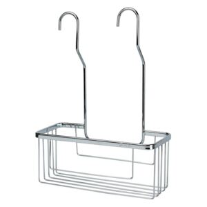 Rectangular Shower Basket C07 to hang on the faucet AISI 304 Chromed
