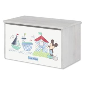 Drvena škrinja za Disneyjeve igračke - Mickey Mouse toy chest