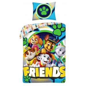HALANTEX posteljina Paw Patrol Friends Cotton, 140/200, 70/90 cm