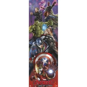 Avengers: Age Of Ultron Poster, (53 x 158 cm)