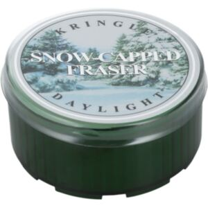 Kringle Candle Snow Capped Fraser čajna svijeća 35 g