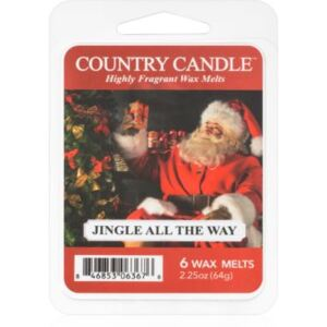 Country Candle Jingle All The Way vosak za aroma lampu 64 g