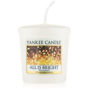 Yankee Candle All is Bright mala mirisna svijeća bez staklene posude 49 g