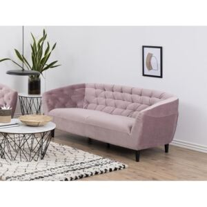 Sofa NJ1330, Boja: Dusty roza