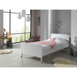 Dětská postel VIPACK FURNITURE Billy white bijela 200x90 cm