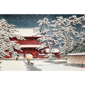 Kawase - Zojo Temple in the Snow Poster, (61 x 91,5 cm)