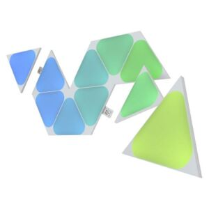 Nanoleaf NL48-1001TW-10PK - SET 10x LED RGB Prigušivi panel TRIANGLES LED/0,5